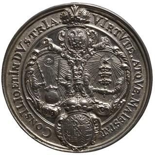 Chronogram Wedding Medal reverse