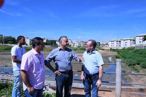 Visita técnica para verificar as atuais condições de manutenção do Córrego Vilarinho e seus afluentes  - Comissão Especial de Estudo - Enchentes da Avenida Vilarinho
