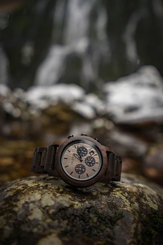 Wooden Watch from Toni Hoffmann