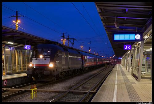 BahnTouristikExpress 182 521, Bludenz 27-01-2018