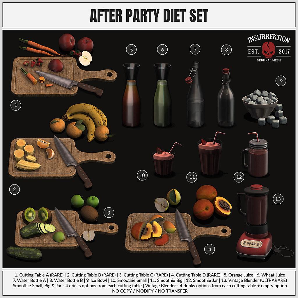 [IK] After Party Diet Set – Key