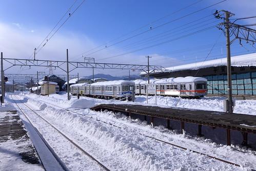 弘南線を走る電車たち