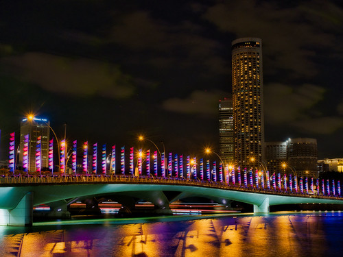 Oriflammes@Jubilee Bridge