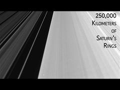 250,000 Kilometers of Saturn's Rings