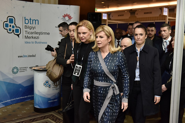 Welcoming President Croatia & Ministers