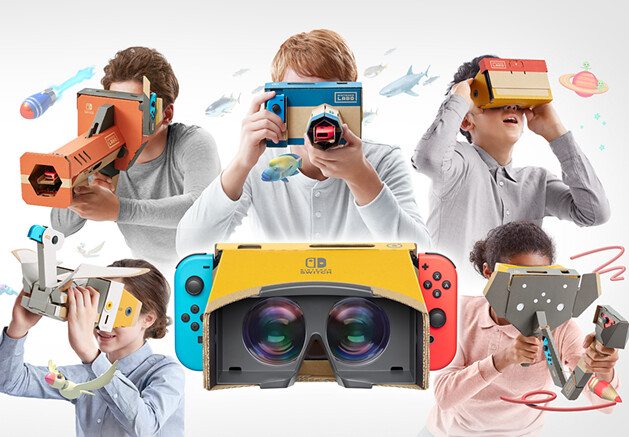 製作VR、遊玩VR、探索VR!  任天堂將推出 Nintendo Switch「Nintendo Labo Toy-Con 04: VR套裝」