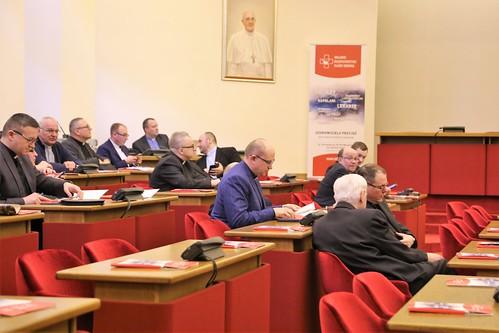 Spotkanie duszpasterzy służby zdrowia z diecezji i kapelanów szpitali, Warszawa, 26.02.2019 r.