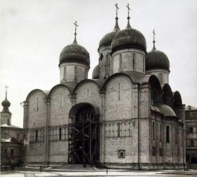 успенский собор 1917