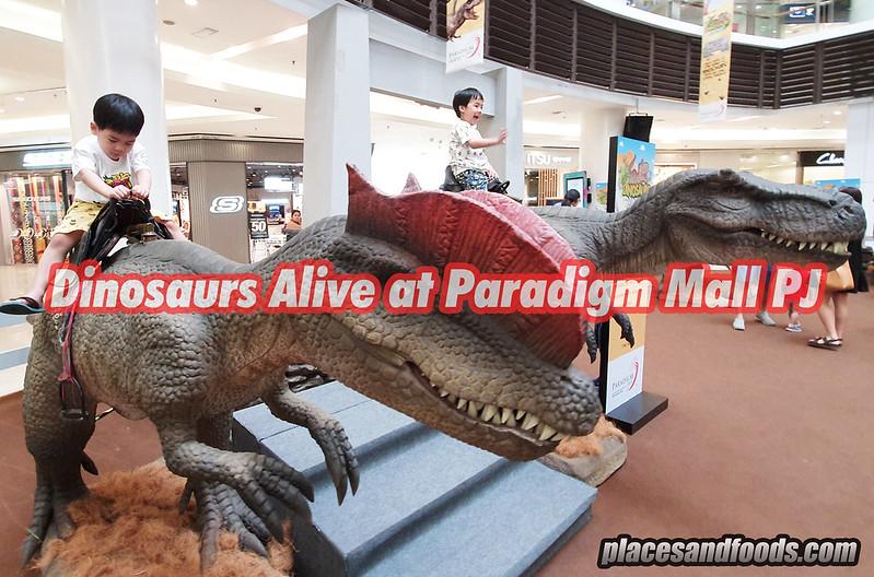 dinosaur alive paradigm mall pj
