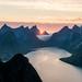 Kjerkfjorden by Lars Mathisen