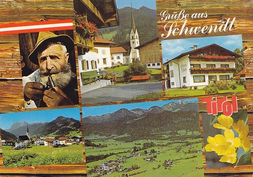 Postkarte / Österreich