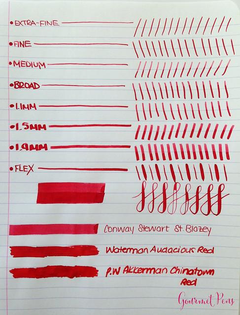 Conway Stewart St. Blazey Ink 4