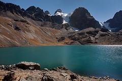Laguna Chiar Khota in Condoriri Mountains