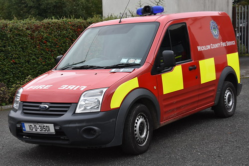 Wicklow County Fire Service 2010 Ford Transit Connect WCFS GPV 10D31501
