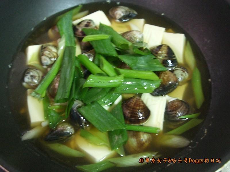 Doggy酒蒸豆腐蛤蜊08