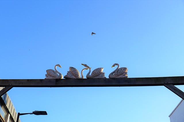 Photo:Four Swans Hotel, Waltham Cross, EN8 By Ewan-M