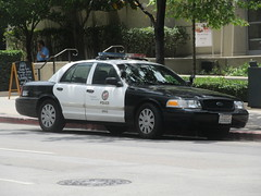 LAPD Ford Crown Victoria