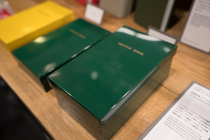 測量野帳のブリキ缶