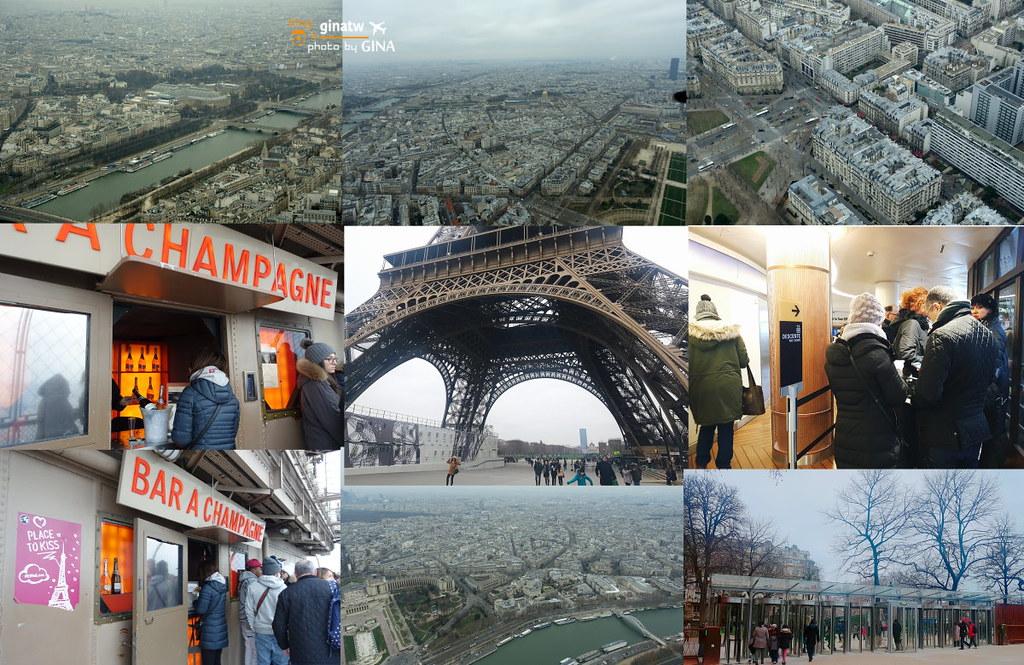 2020法國巴黎鐵塔》艾菲爾鐵塔(La Tour Eiffel)每個女孩心中的夢想+LE DOME吃歐式早餐 @Gina環球旅行生活