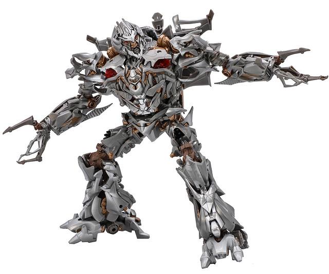 狂暴的破壞大帝霸氣現身!! 孩之寶 傑作電影系列《變形金剛》密卡登 Megatron MPM-08