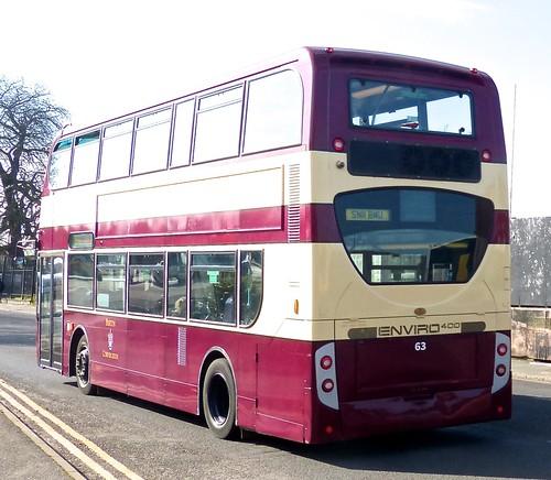 SN11 BMU 'midland classic No. 63 'Burton Corporation'. Alexander Dennis Ltd. (ADL) Trident / 'ADL' Enviro 400 /2 on Dennis Basford's railsroadsrunways.blogspot.co.uk'