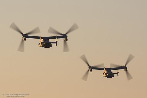 peterstarling v22 tiltrotor tilt rotor prop blur sun set dusk orange glow osprey egun johns field john