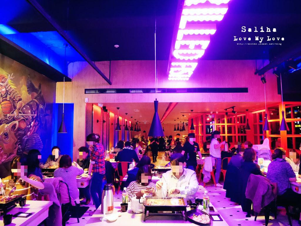 台北小巨蛋站南京東路餐廳水貨炭火烤魚麻辣火鍋大份量餐點 (5)