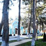 В храме святого Георгия Победоносца города-курорта Геленджик Литургию  совершил  благочинный Геленджикского округа, настоятель храма – иерей Максим Пьянков.
