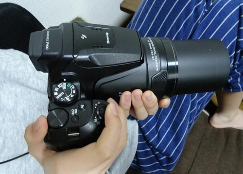 デジカメのレンタルをレンティオさんでした NIKON P900