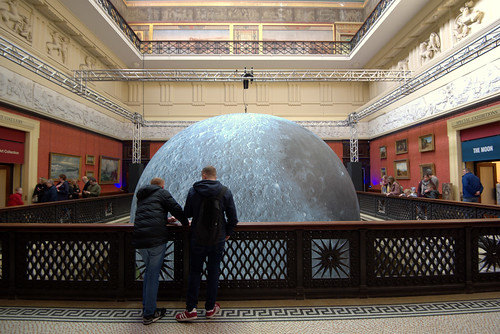 The Museum of the Moon at the Harris, Preston | by Tony Worrall