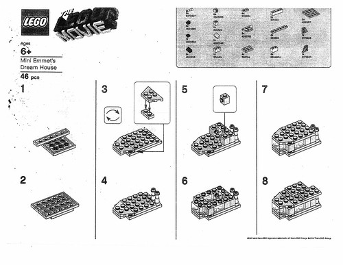 The Lego Movie 2 Barnes Noble Building Event Instructions