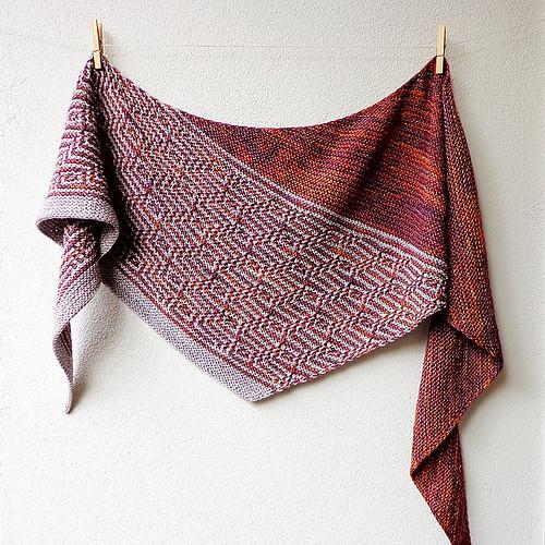 Lisa Hannes' Barnstable shawl