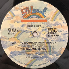 INNER LIFE:AIN'T NO MOUNTAIN HIGH ENOUGH(LABEL SIDE-B)