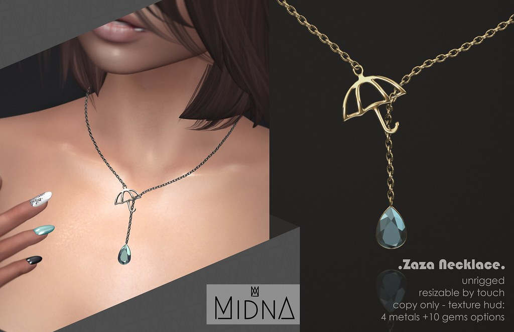 Midna - Zaza Necklace - TeleportHub.com Live!