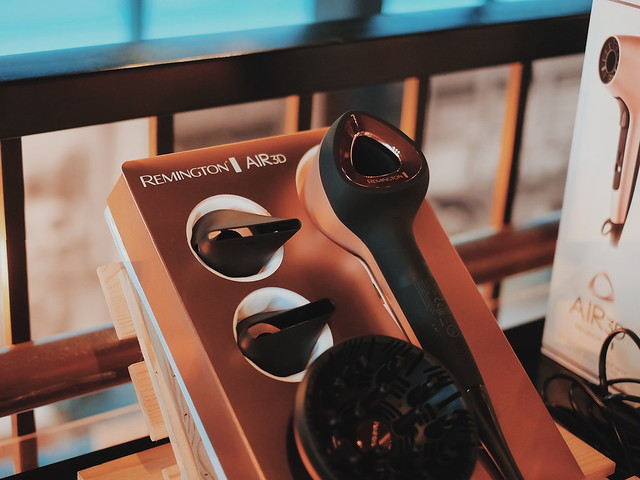 Remington Air 3D Hair Dryer in Rose Gold Philippines Launch