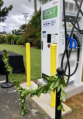 Hawaii Electric Light's Fast Charger Blessing in Punaluu — March 16, 2019: We hope that the fast charger will encourage residents in the area to adopt an electric vehicle for Hawaii's clean energy future.