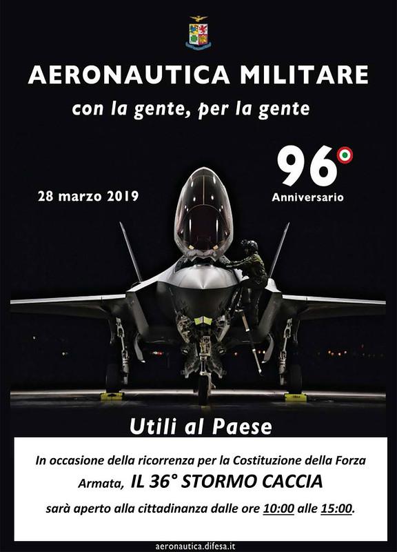 96° anniversario aeronautica militare
