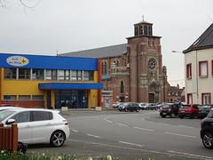 Annœullin.- Église Saint-Martin d'Annœullin