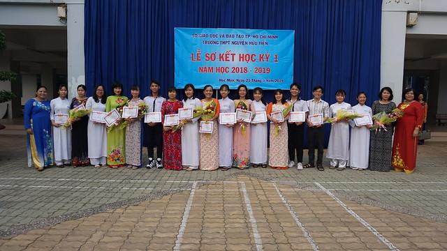 Lễ sơ kết học kỳ 1 - Năm học 2018-2019
