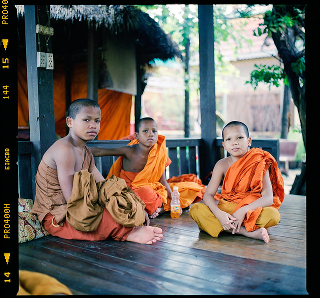 Young student monks
