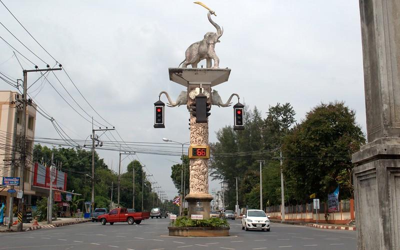 Elefante semáforo