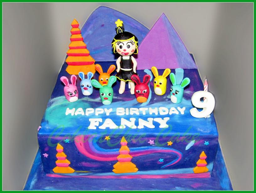 Cake Hanazuki FANNY 30 cm