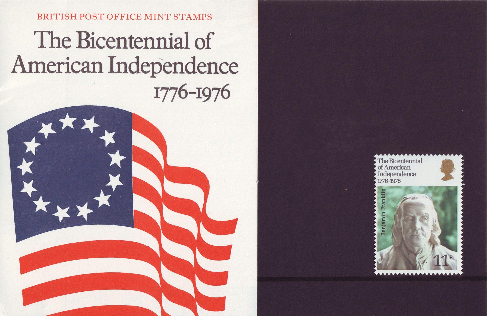 Great Britain - Scott #785 (1976) presentation pack (a)