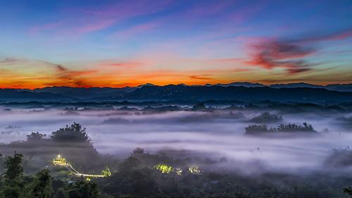 Color temperature before sunrise