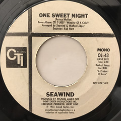 SEAWIND:ONE SWEET NIGHT(LABEL SIDE-B)