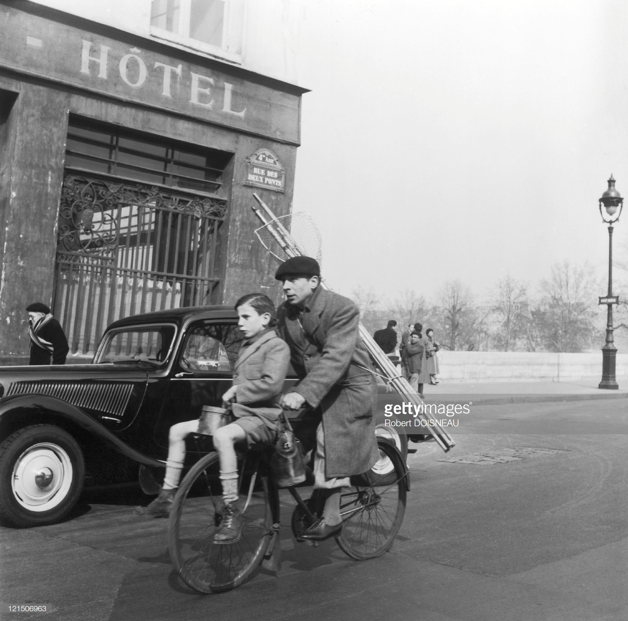 Париж во время праздников