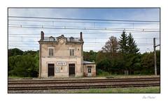 La gare abandonnée - Photo of Quincy-le-Vicomte