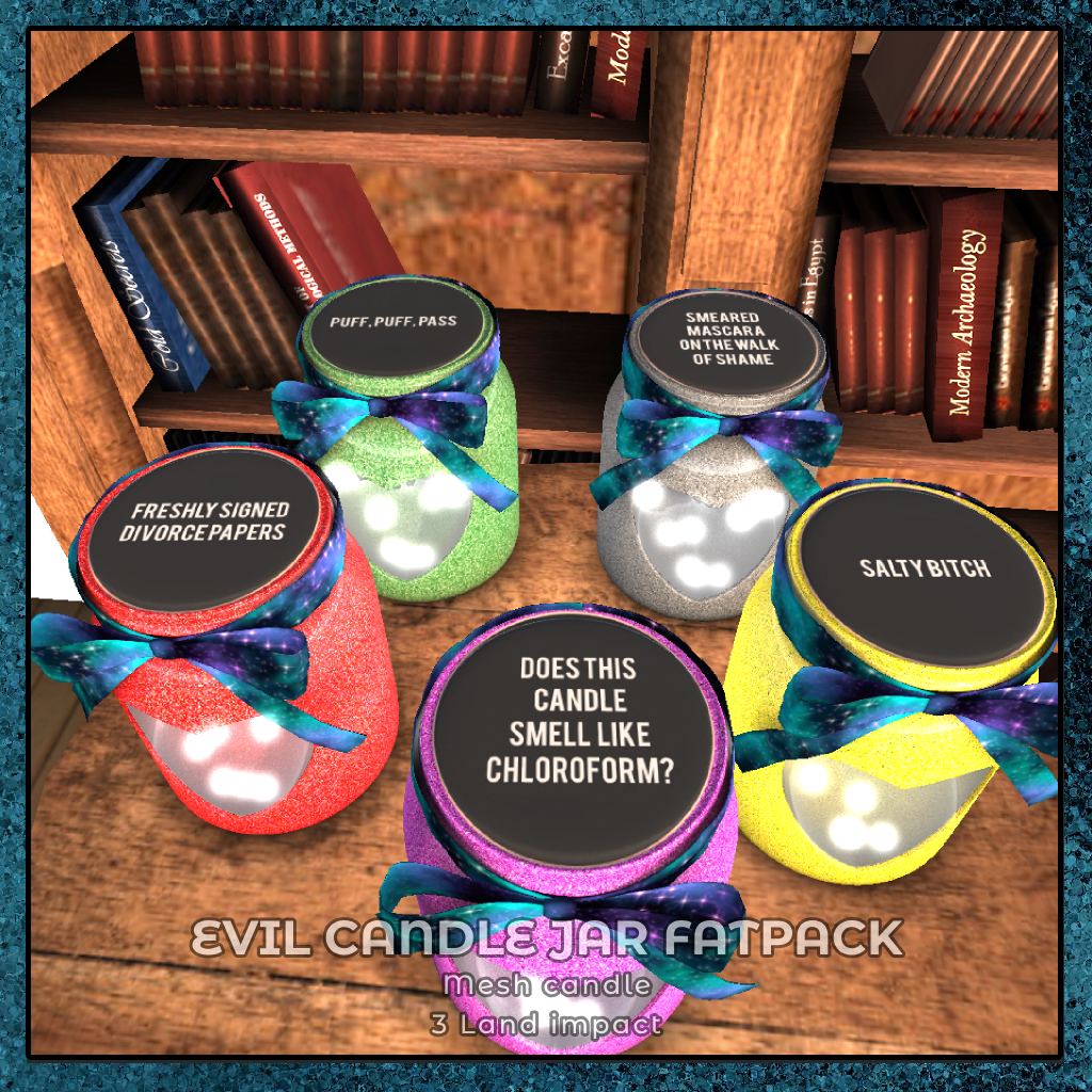 {zfg} home evil candle fatpack