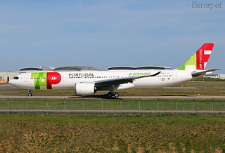 F-WWKM Airbus A330 Neo Air Portugal