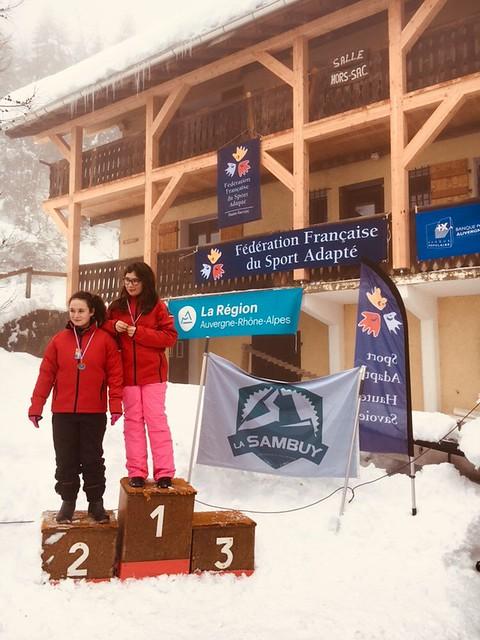 Championnat Régional de Ski alpin Sport Adapté - La Sambuy (74) - 2 février 2019